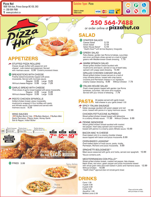 Order pizza online for fast delivery or carryout from a store near you. View our full menu, see nutritional information, find store locations, and more. Order pizza online for fast delivery or carryout from a .