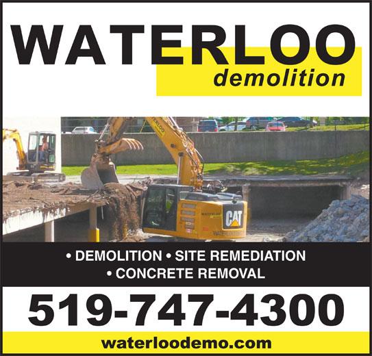 Ads Waterloo Demolition