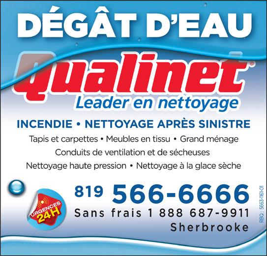 Qualinet (819-566-6666) - Annonce illustrée======= -