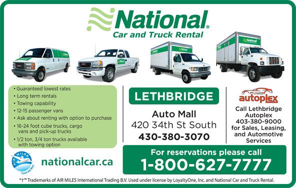 National Car Rental Lethbridge