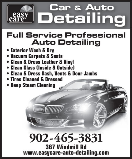 Auto Detailing Mississauga >> Ads Easy Care Auto Detailing