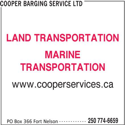 Ads Cooper Barging Service Ltd