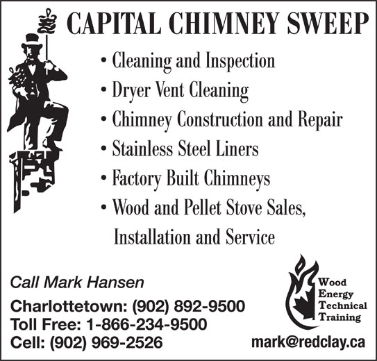 Capital Chimney Sweep Belle River Pe 331 Munns Rd