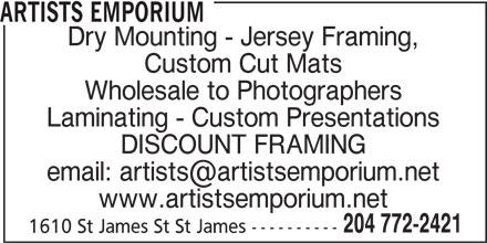 Ads Artists Emporium