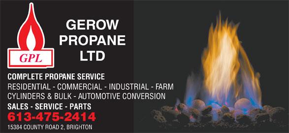 Ads Gerow's Propane