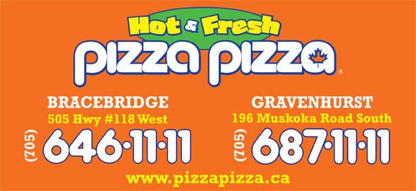 Pizza Pizza (705-646-1111) - Annonce illustrée======= -