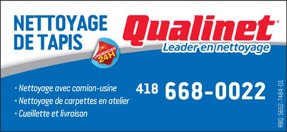 Qualinet (418-668-0022) - Annonce illustrée======= -