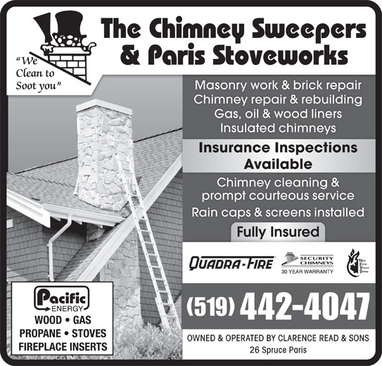 The Chimney Sweepers 26 Spruce St Paris On