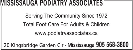 Mississauga Podiatry Associates (289-814-4891) - Annonce illustrée - Serving The Community Since 1972 Total Foot Care For Adults & Children www.podiatryassociates.ca  Serving The Community Since 1972 Total Foot Care For Adults & Children www.podiatryassociates.ca  Serving The Community Since 1972 Total Foot Care For Adults & Children www.podiatryassociates.ca  Serving The Community Since 1972 Total Foot Care For Adults & Children www.podiatryassociates.ca  Serving The Community Since 1972 Total Foot Care For Adults & Children www.podiatryassociates.ca  Serving The Community Since 1972 Total Foot Care For Adults & Children www.podiatryassociates.ca