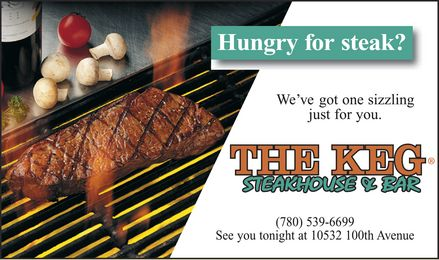 The Keg Steakhouse & Bar (780-539-6699) - Display Ad