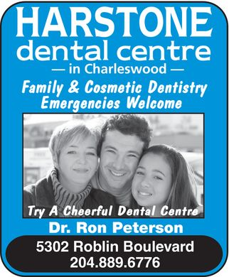 Harstone Dental Centre (204-889-6776) - Display Ad