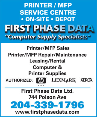 First Phase Data (204-339-1796) - Display Ad