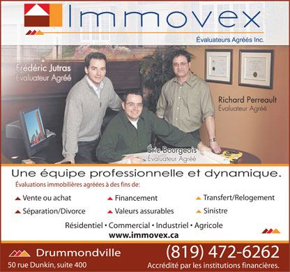 Immovex (819-472-6262) - Display Ad