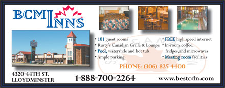 Best Canadian Motor Inn (780-871-9057) - Annonce illustr&eacute;e