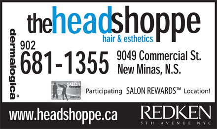 The Head Shoppe (902-681-1355) - Annonce illustrée