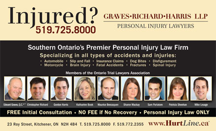 Graves Richard Harris LLP (519-725-8000) - Display Ad