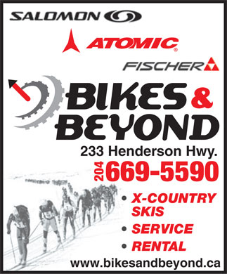 Bikes & Beyond (204-515-0616) - Display Ad
