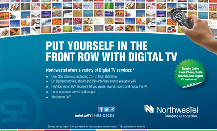 Northwestel (1-888-423-2333) - Display Ad