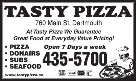 Tasty Pizza (902-435-5700) - Display Ad