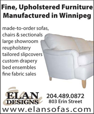 Elan Designs Ltd (204-489-0872) - Display Ad