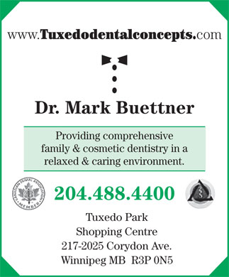 Buettner Mark A (204-488-4400) - Display Ad