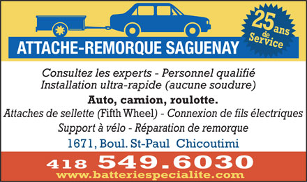 attache remorque saguenay 1671 boul saint paul chicoutimi qc. Black Bedroom Furniture Sets. Home Design Ideas
