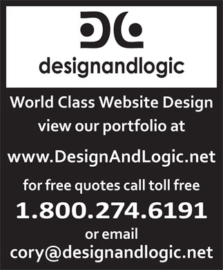 Design And Logic (1-800-274-6191) - Annonce illustrée