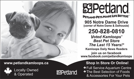 Petland (250-828-0810) - Display Ad - 15 15