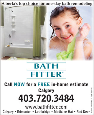 Bath Fitter (403-720-3484) - Display Ad