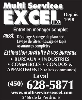 Service d 39 entretien optimum 17760 rue charles laval qc for Chambre de commerce de terrebonne