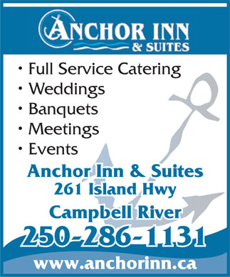 Anchor Inn & Suites (250-286-8974) - Display Ad