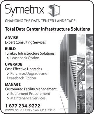 Symetrix (1-877-234-9272) - Display Ad