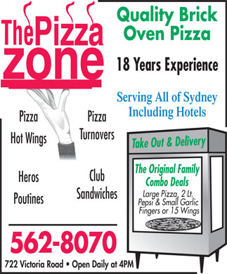 Pizza Zone (902-562-8070) - Display Ad