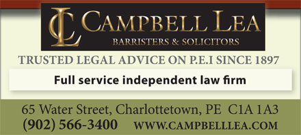 Campbell Lea (902-816-0959) - Display Ad