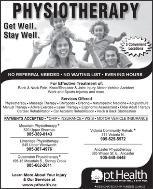 pt Health (905-389-0143) - Display Ad