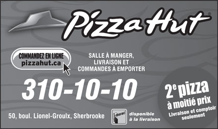 Pizza Hut (310-1010) - Display Ad