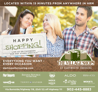 Dartmouth Crossing (902-445-8883) - Display Ad