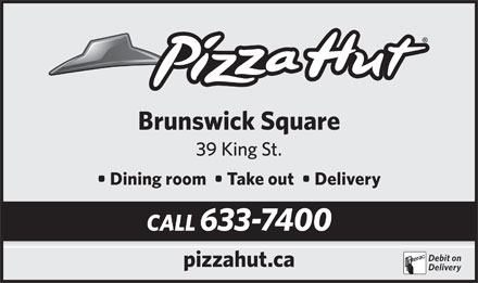 Pizza Hut (506-633-7400) - Display Ad