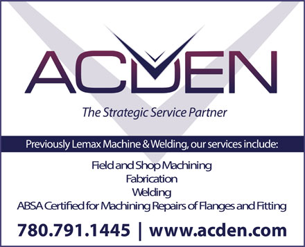 Acden (780-791-1445) - Display Ad