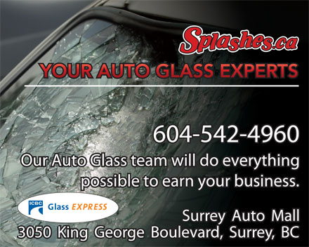Splashes.ca (604-542-4960) - Display Ad