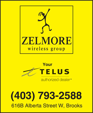 Zelmore Wireless Group (403-793-2588) - Annonce illustrée - (403) 793-2588 616B Alberta Street W, Brooks