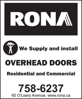 Rona (709-758-6237) - Annonce illustrée - We Supply and install We Supply and install