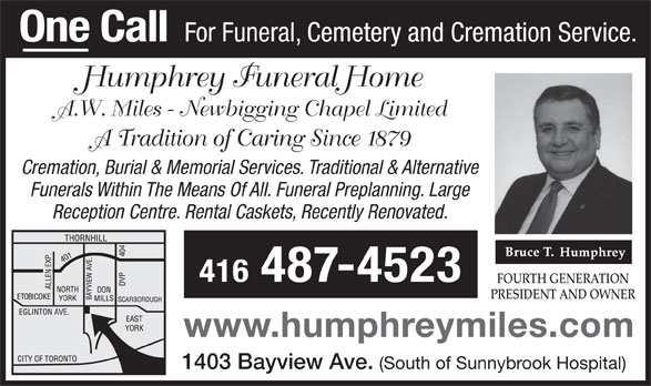 humphrey funeral home humphrey funeral home a w newbigging chapel limited 876